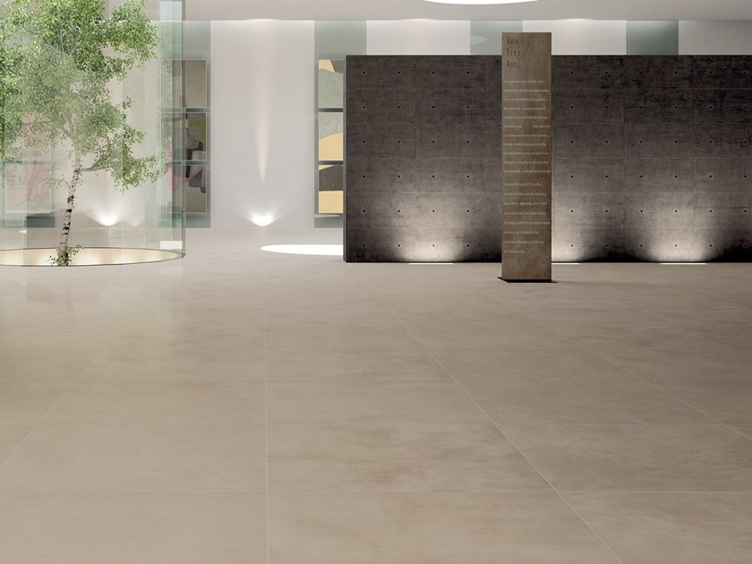 Laminated stoneware wall/floor tiles with resin effect SLIMTECH RE-EVOLUTION SRW020 by LEA CERAMICHE