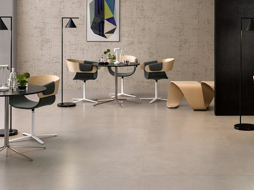 Porcelain stoneware wall/floor tiles with resin effect SLIMTECH TAKE CARE MOON by LEA CERAMICHE