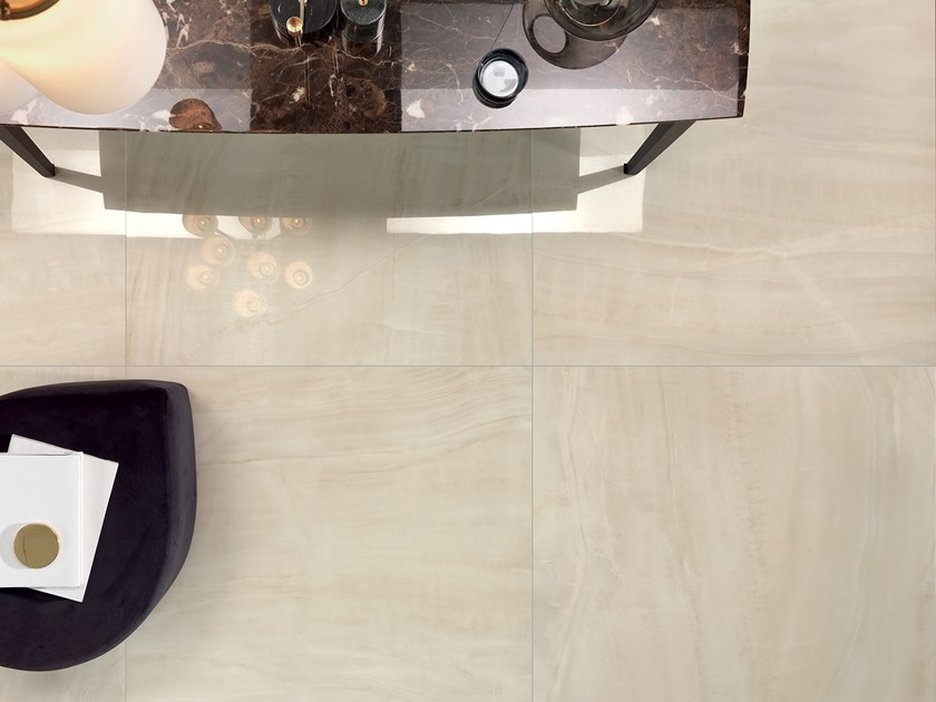 Antibacterial laminated stoneware wall/floor tiles SLIMTECH TIMELESS MARBLE ONICE VENUS by LEA CERAMICHE
