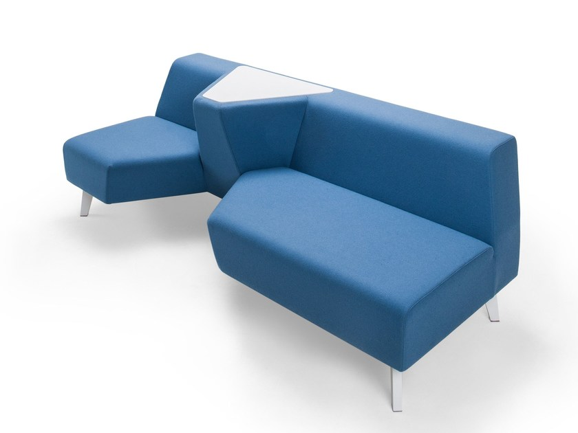 Modular fabric sofa SLIT | Sofa by Sedes Regia