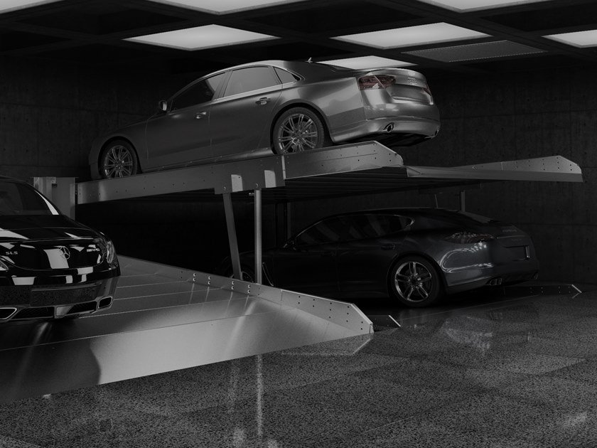 Automatic parking systems SLOPE by Modulo Parking