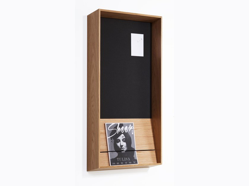 Wall-mounted one-sided display unit SLOPE | Wall-mounted display unit by Karl Andersson
