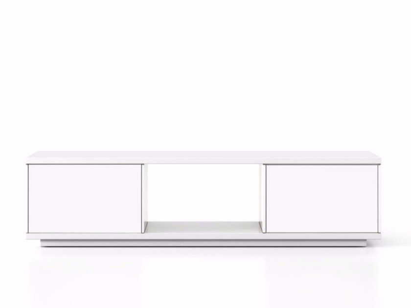 Lacquered wooden sideboard with doors SLT003 | Sideboard with doors by Punt