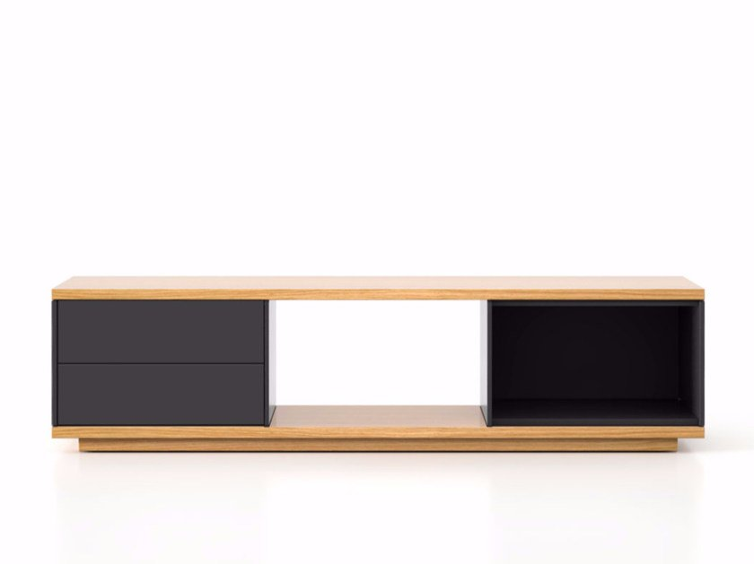 Lacquered wooden sideboard with drawers SLT004   Sideboard with drawers by Punt