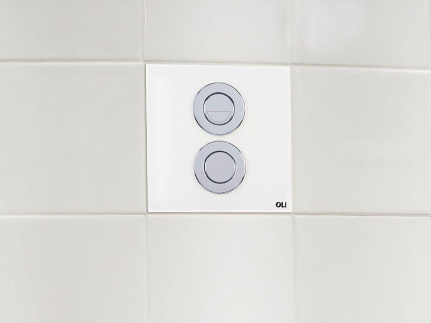 Glass flush plate SM15 | Flush plate by OLI