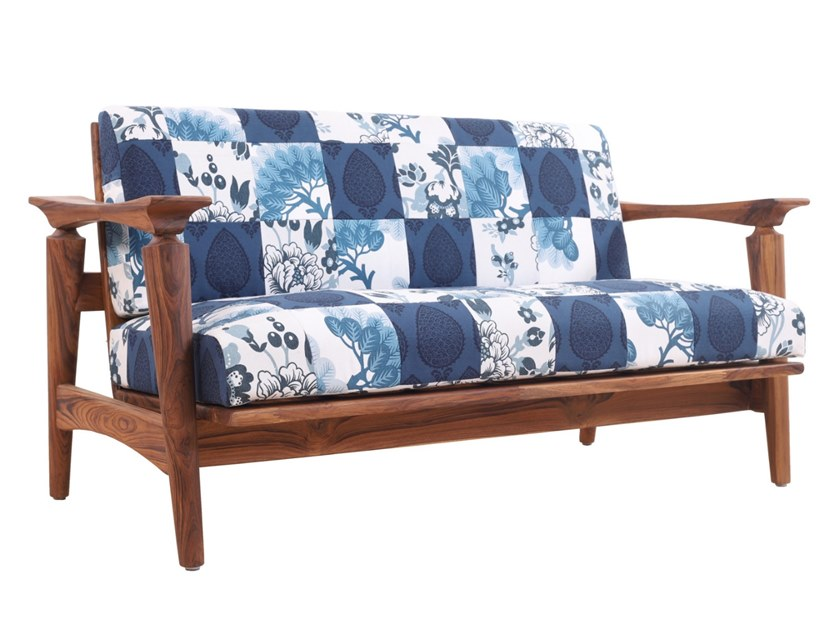 Fabric small sofa NISADYA   Small sofa by ALANKARAM