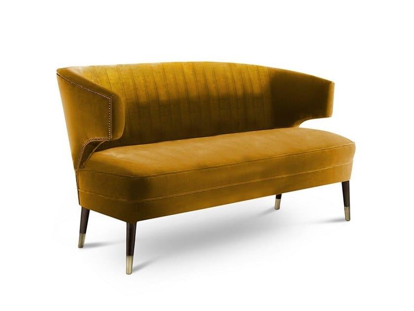 Fabric small sofa IBIS | Small sofa by BRABBU