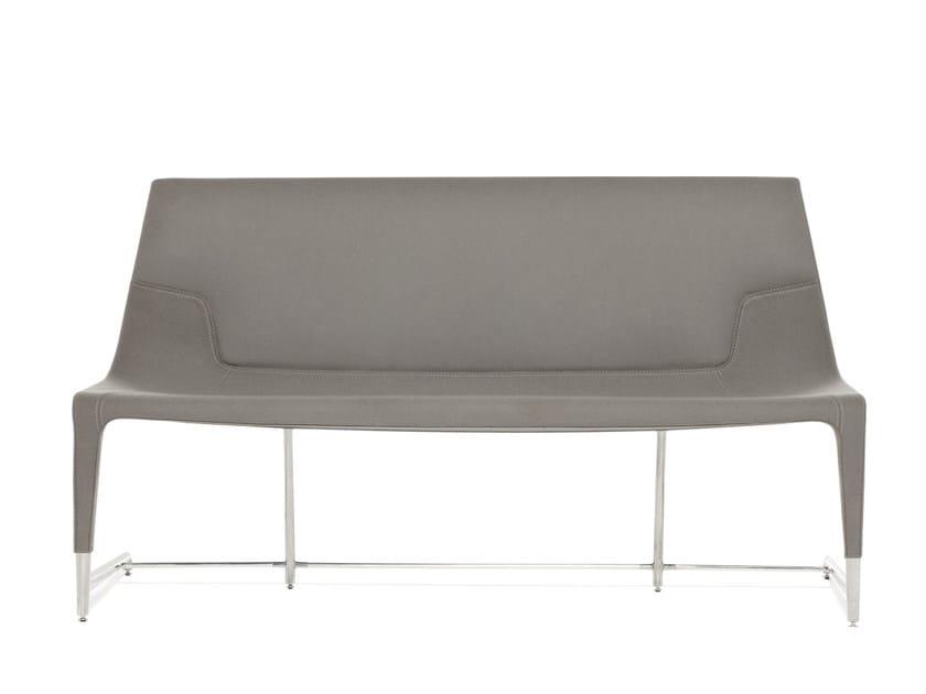 Fabric small sofa ELLE SOFA | Small sofa by Emmegi