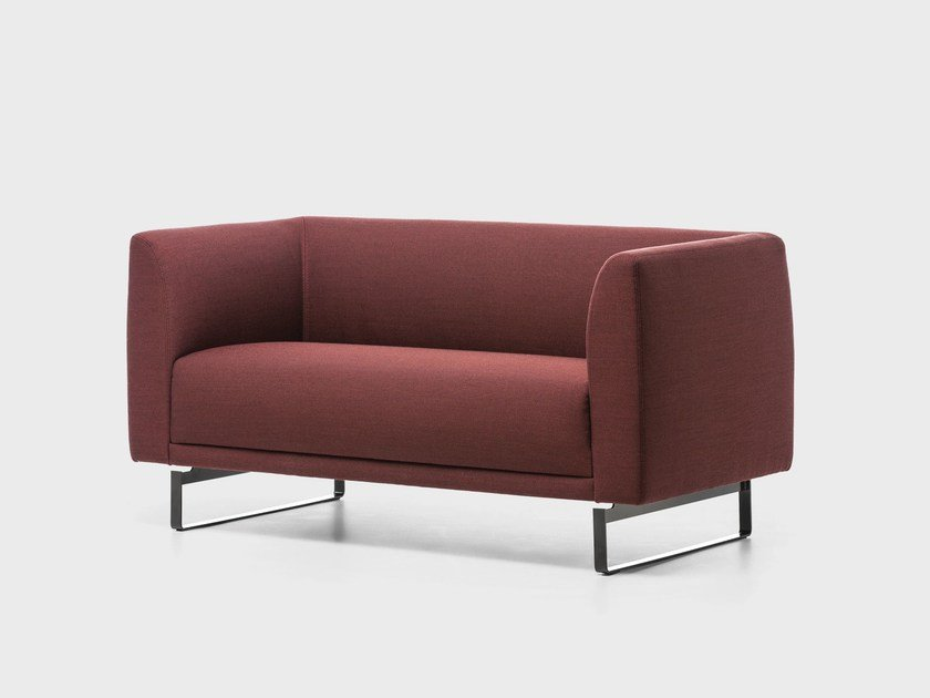 Fabric small sofa TAILOR | Small sofa by La Cividina