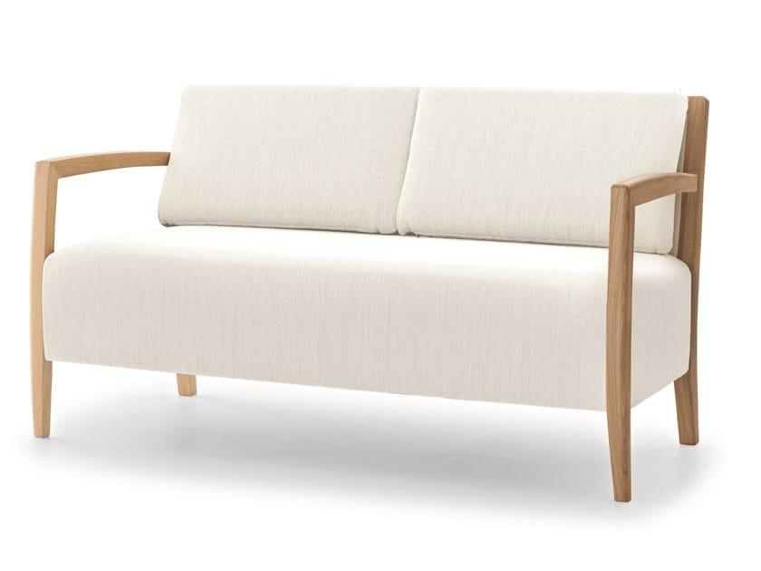 Fabric small sofa DELPHI LAZY LIGHT SOFA by Passoni