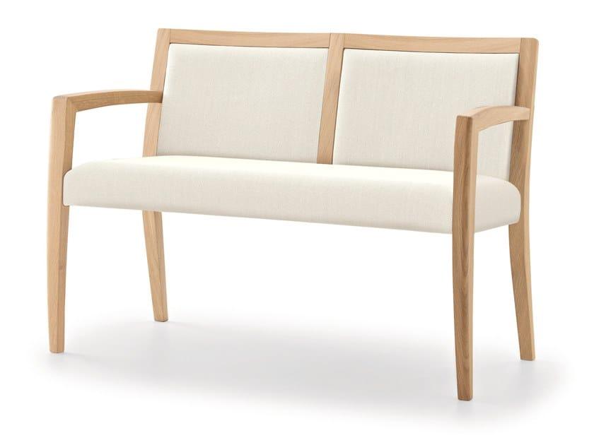Fabric small sofa DELPHI SOFA by Passoni