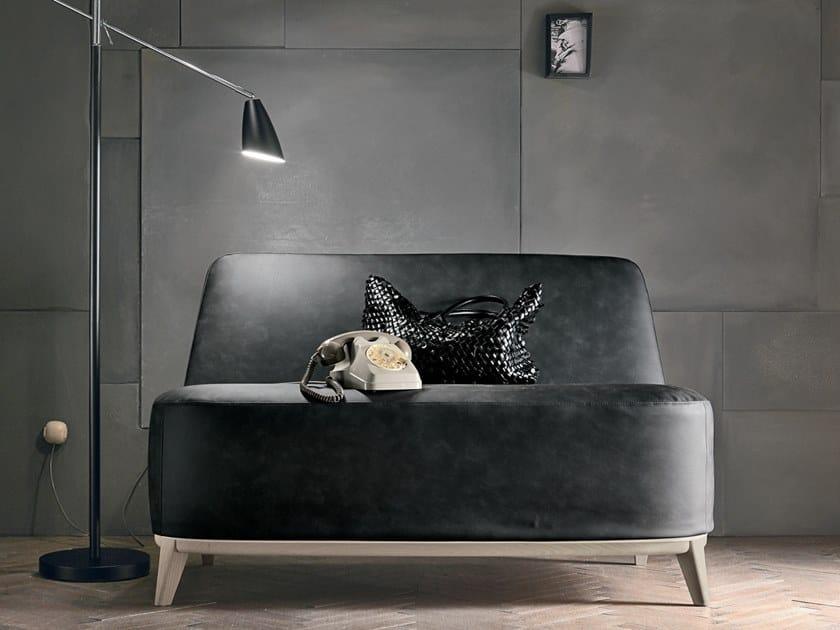 Leather small sofa LOFT   Small sofa by Gruppo Tomasella