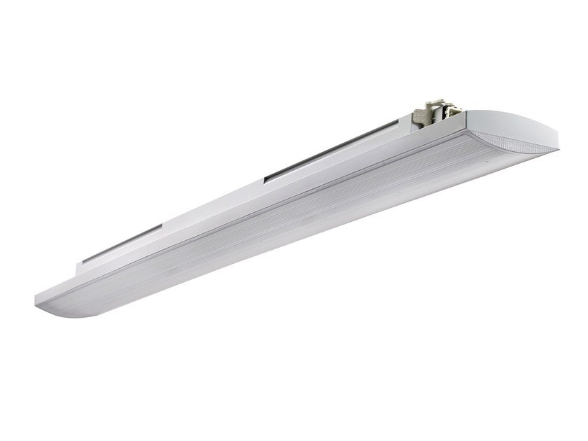 Plafoniere Industriali A Led : Plafoniera industriale a led in policarbonato smart c gewiss