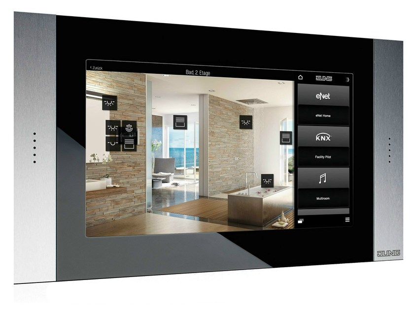 Building automation system interface SMART CONTROL by JUNG
