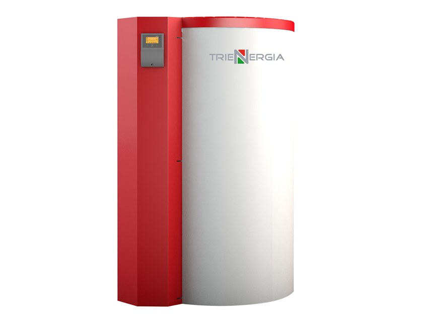 Boiler for solar heating system SMART FRESH by Trienergia