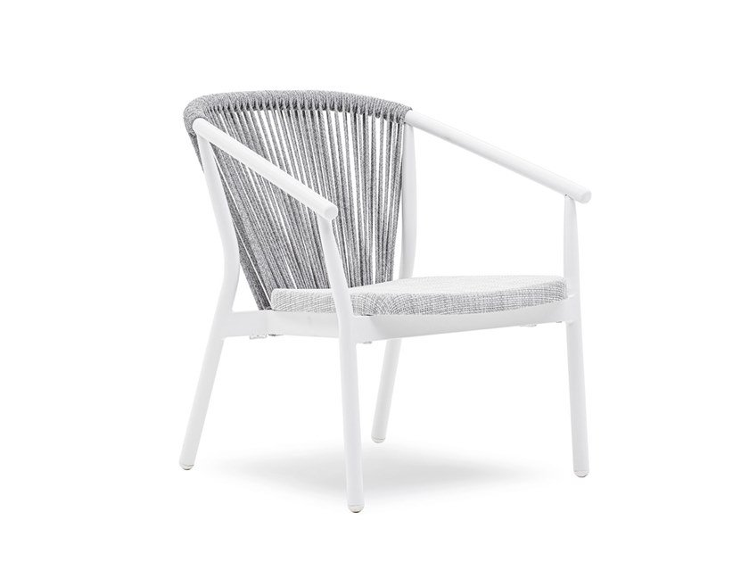 Garden easy chair with armrests SMART | Garden easy chair by Varaschin