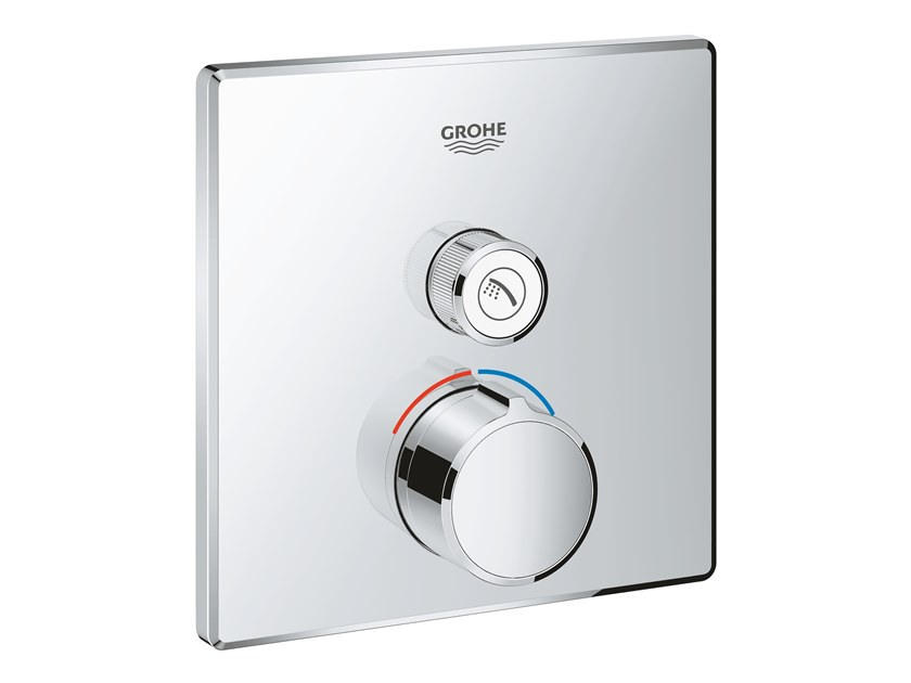 Shower mixer with plate SMARTCONTROL 29147000 | Shower mixer by Grohe