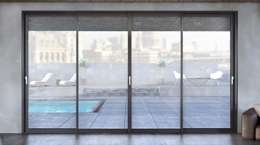 Porta finestra scorrevole smartia m14500 collezione for Costo porta finestra