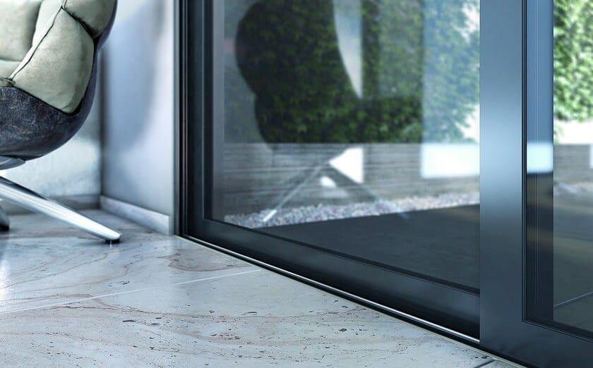 Porta finestra scorrevole smartia m14500 collezione smartia systems by alumil - Finestra scorrevole costo ...