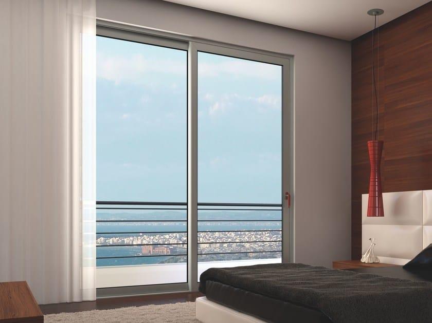 Porta-finestra scorrevole SMARTIA S350 by Alumil