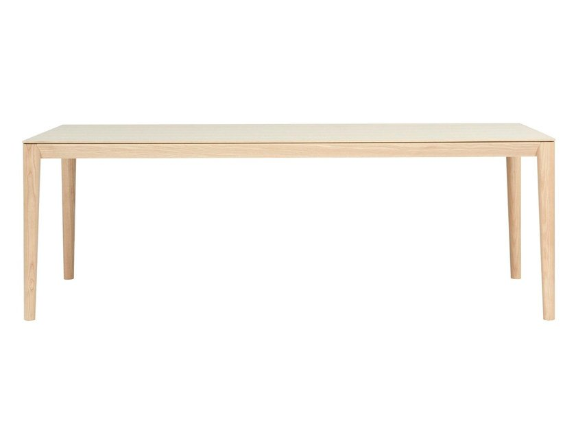 Rectangular wooden table SMITH | Wooden table by SP01