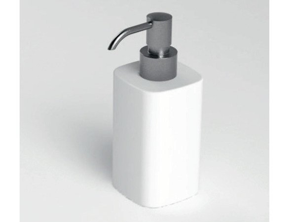 Smooth Corian Bathroom Soap Dispenser