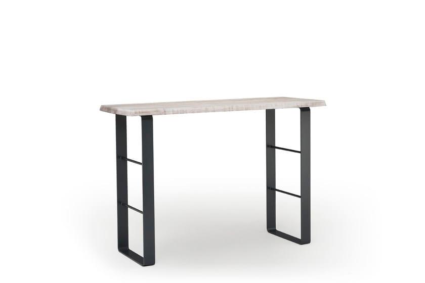 Tavoli Alti Legno : Tavolo alto rettangolare in legno snack natisa