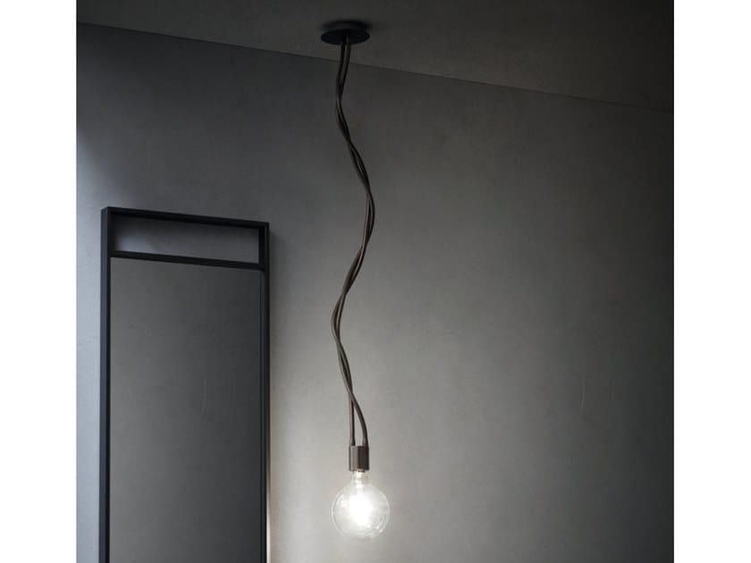 Swivel pendant lamp SNAKE by Cerasa