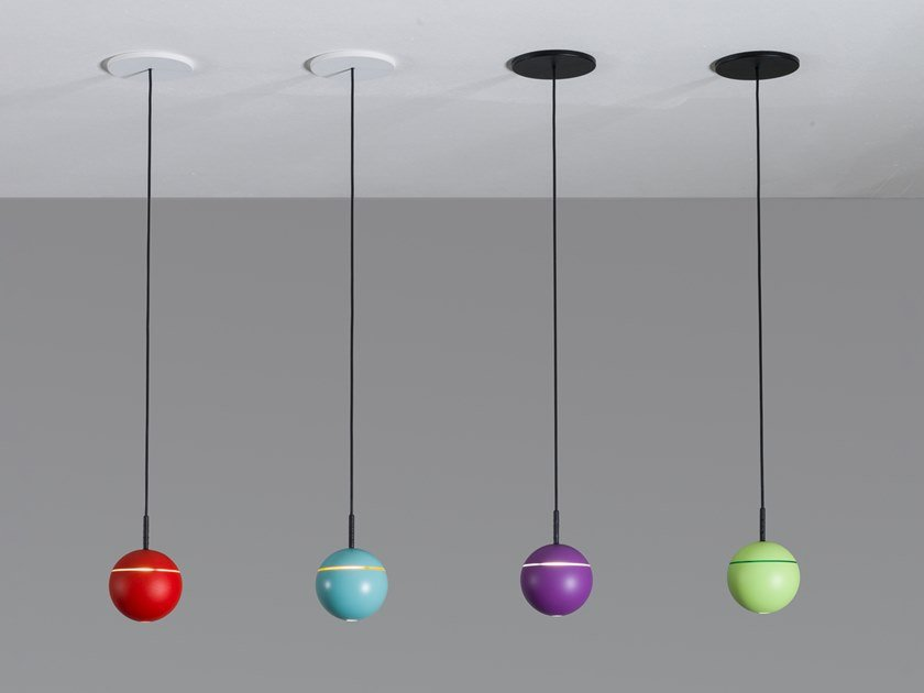 LED adjustable pendant lamp SNOOKER CANOPY by PROLICHT