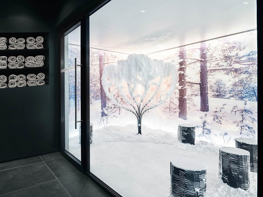 Snow Room FOREST DESIGN by TechnoAlpin