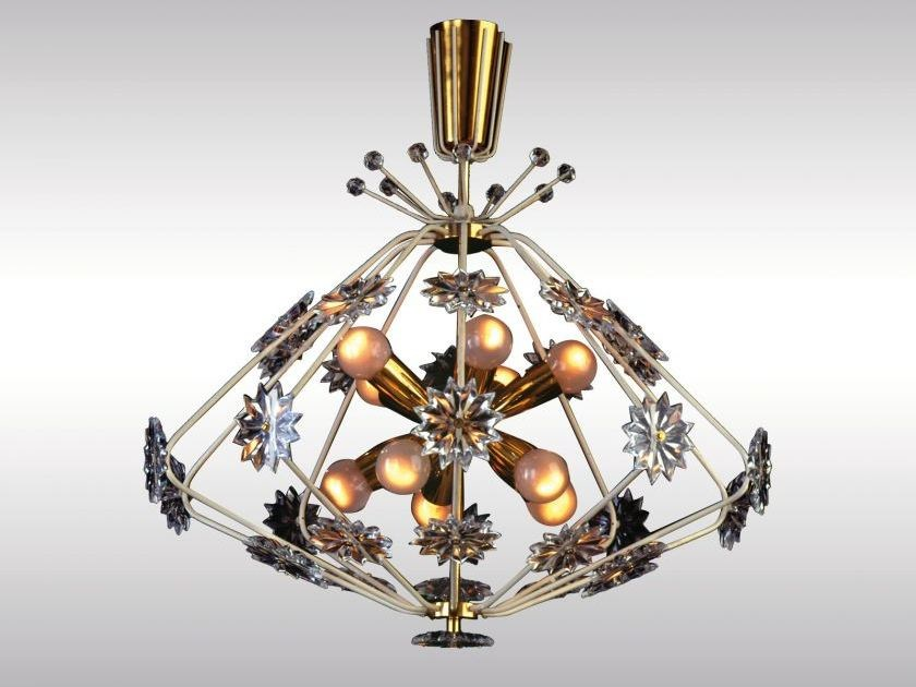 Classic style chandelier SNOWFLAKE by Woka Lamps Vienna