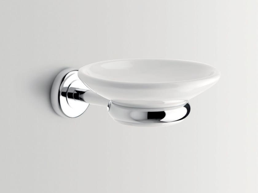 Wall-mounted ceramic soap dish CIRCLE | Soap dish by BATH&BATH