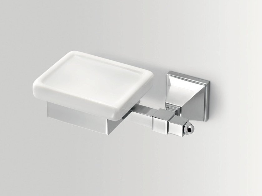 Wall-mounted ceramic soap dish TIMELESS | Soap dish by BATH&BATH