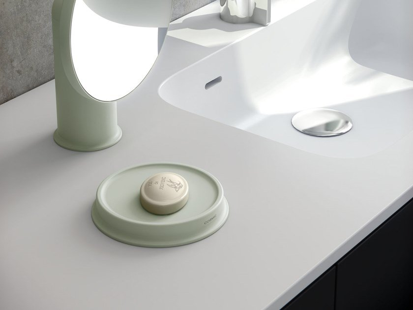 Countertop soap dish GEYSER | Soap dish by Cosmic