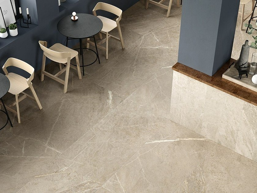 Porcelain stoneware flooring with stone effect SOAP STONE by Ceramiche Coem