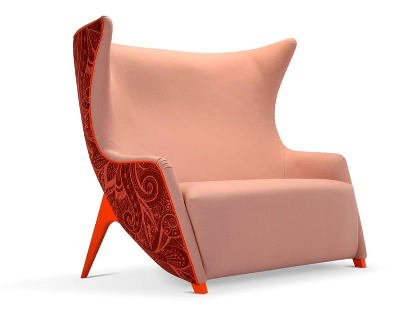 2 seater fabric sofa GEA | Sofa by Adrenalina