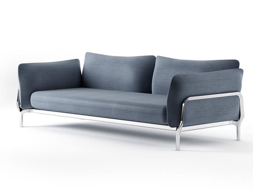 Fabric sofa VINA V02 by Alias