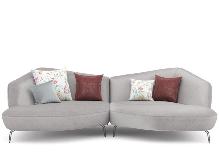 Sectional fabric sofa ARECA | Sofa by Aquinos Collection