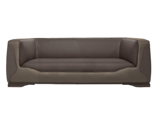 Upholstered 2 seater leather sofa V133 | 2 seater sofa by Aston Martin