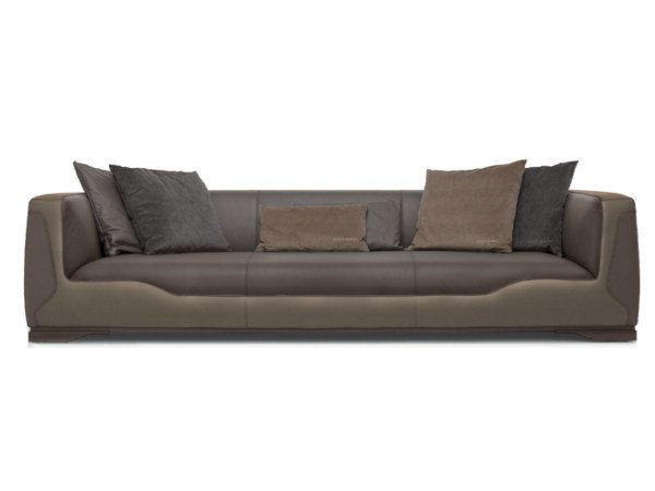 Upholstered 4 seater leather sofa V133 | 4 seater sofa by Aston Martin