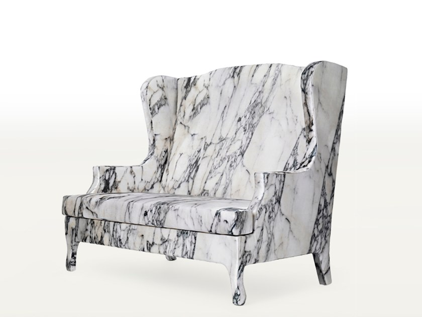 High-back fabric sofa LOUIS XV GOES TO SPARTA | Sofa by BALERI ITALIA