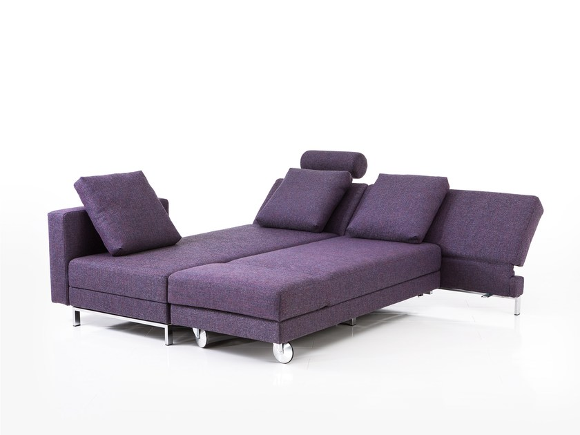Fabric sofa bed FOUR-TWO | Sofa bed by brühl