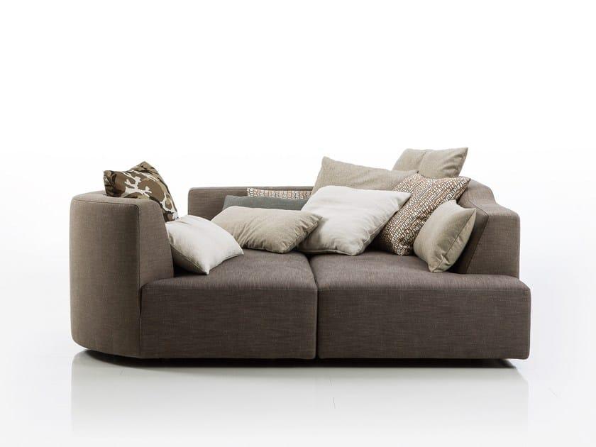 Fabric sofa bed LADYBUG-DREAM | Sofa bed by brühl