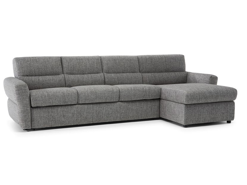 Fabric Sofa Bed With Chaise Longue Ipno