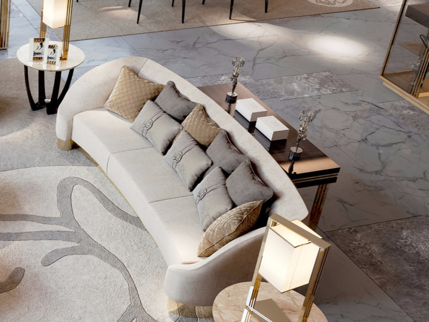 3 seater fabric sofa SYMPHONY - INFINITY | Sofa by Bizzotto