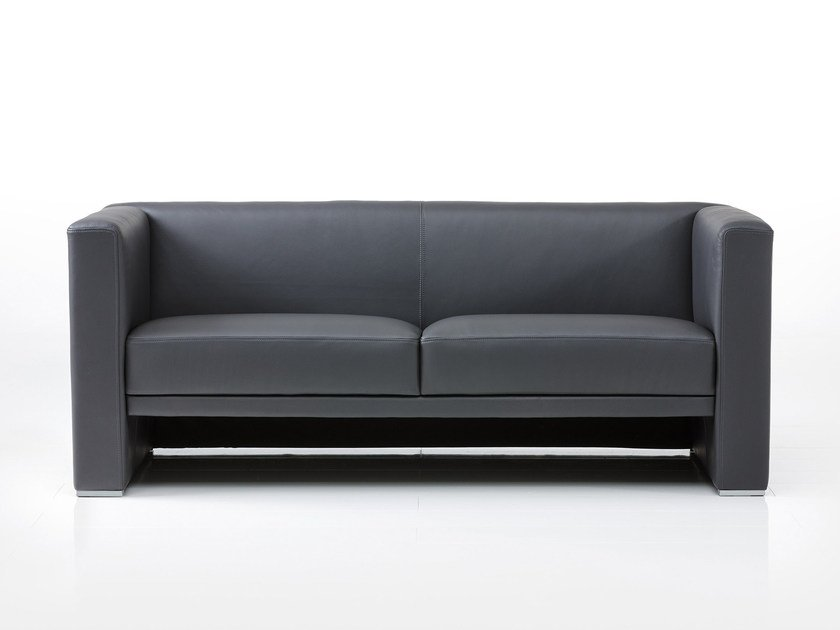 Leather sofa VISAVIS | Sofa by brühl