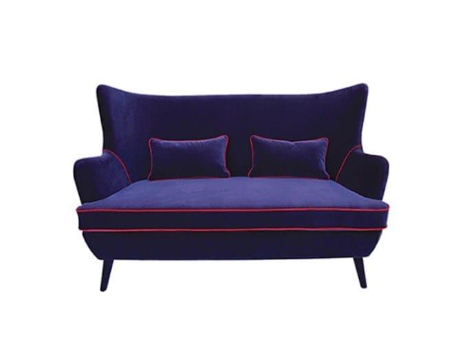 Fabric small sofa WAGNER   Small sofa by Conceito Casa