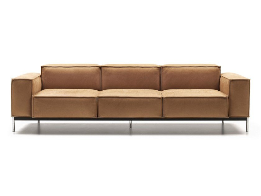 Sectional leather sofa DS-22 | Sofa by de Sede