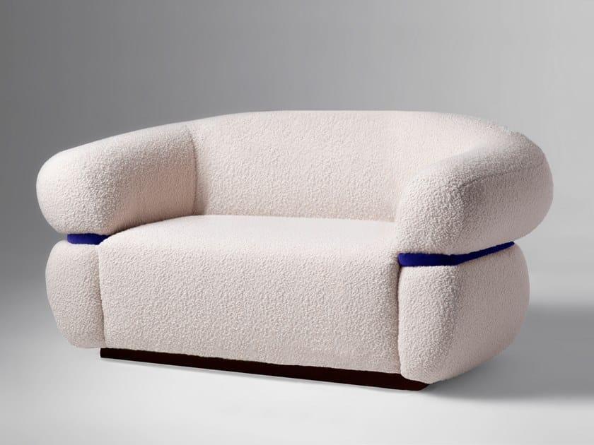 2 seater fabric sofa MALIBU | Sofa by DOOQ