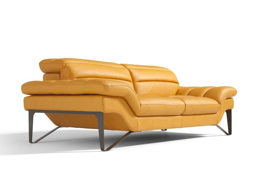 Leather sofa AUDREY | Sofa by Egoitaliano